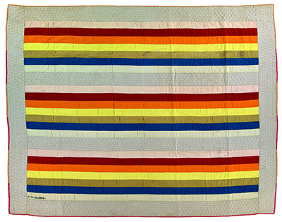 Rainbow Stripes circa 1890-1910