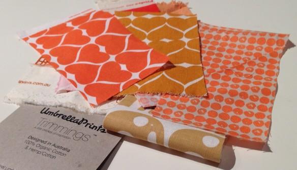 Umbrella Prints - Warm