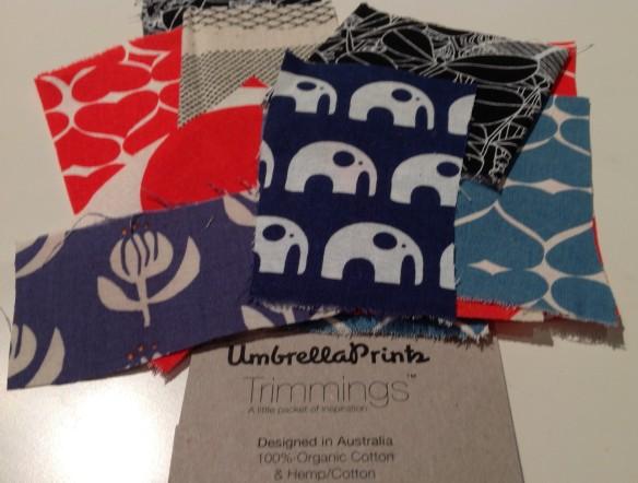 Umbrella Prints - Mixed Trimmings