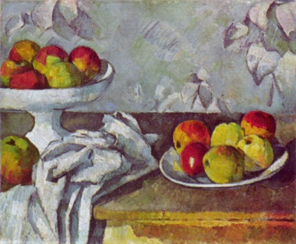 Still Life with Apples -Paul Cezanne