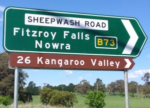 Sheepwash sign
