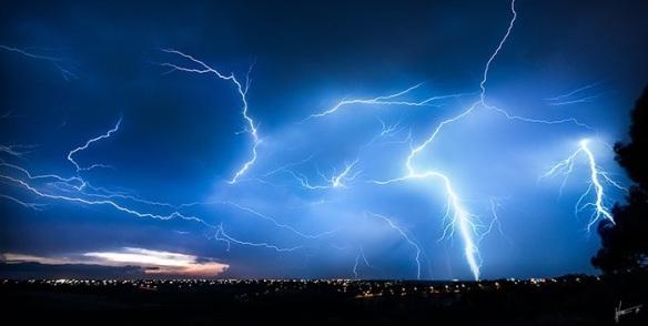 Melbourne lightning