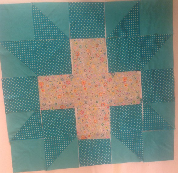 Sophie's baby quilt