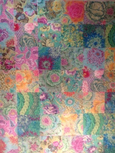 1st attempt Fis quilt