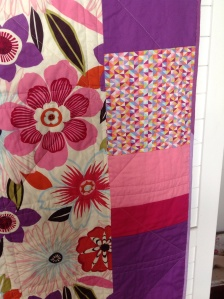 Panel of Fi's quilt