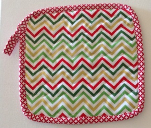 Chevron potholder