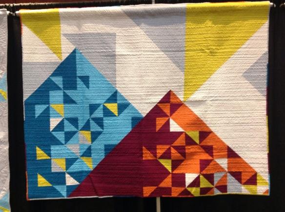 Quiltcon triangles