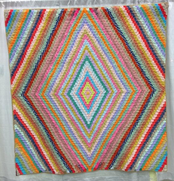 Hexagon Diamonds: unknown maker Polyester, Oregon, c.1970