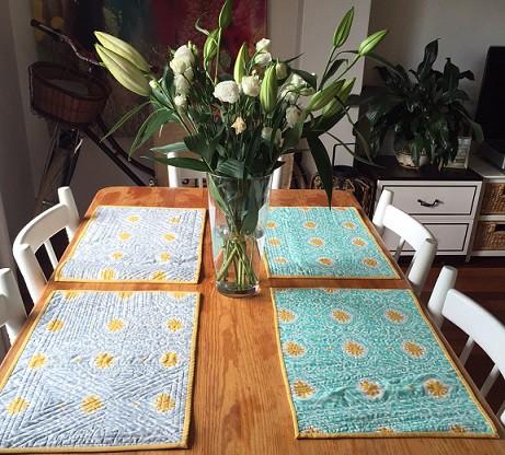 Table mats at Alanas 2