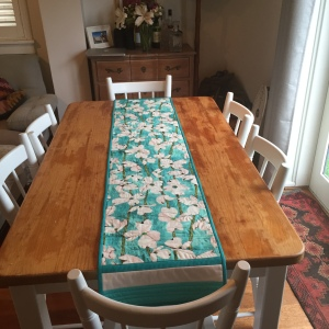 Alana table runner in situ
